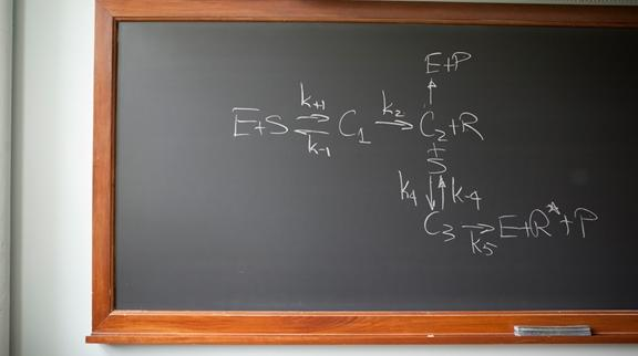 Chalkboard equation