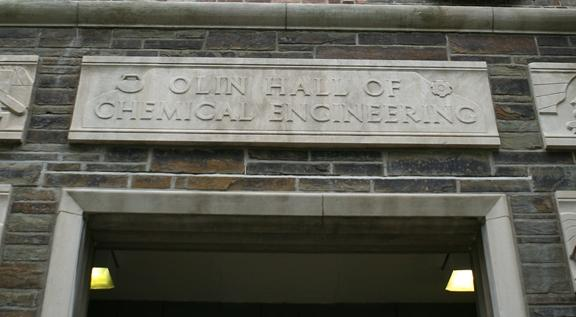 Olin Hall entryway
