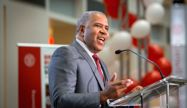 Cornell Alumnus Robert F. Smith ('85) is the Founder, Chairman and CEO of Vista Equity Partners